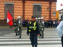 police/army parade